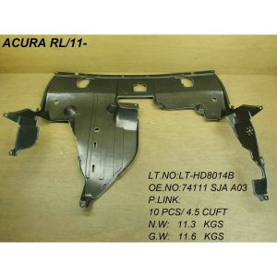 ACURA RL FRONT SPLASH SHIELD (ENG UNDER CVR) OEM#74111SJAA03 2011-2012 PL#AC1228114