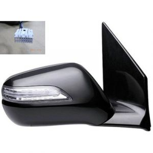 ACURA MDX DOOR MIRROR RIGHT PWR HTD (W/MEMO & SIGNAL LAMP) CNVX OEM#76200STXA02ZG 2007-2009