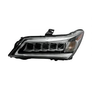 ACURA MDX HEAD LAMP ASSEMBLY LEFT (LED)**CAPA** OEM#33150TZ5A01 2014-2016 PL#AC2502125C