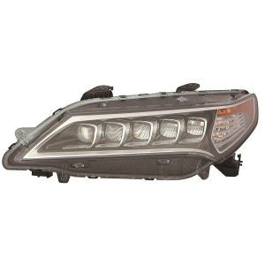 ACURA TLX HEAD LAMP ASSEMBLY (LED) LEFT**CAPA** OEM#33150TZ3A01 2015-2017 PL#AC2502127C