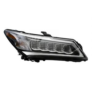 ACURA MDX HEAD LAMP ASSEMBLY RIGHT (LED)**CAPA** OEM#33100TZ5A01 2014-2016 PL#AC2503125C