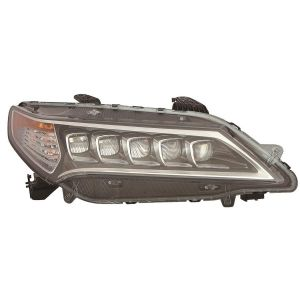 ACURA TLX HEAD LAMP ASSEMBLY (LED) RIGHT**CAPA** OEM#33100TZ3A01 2015-2017 PL#AC2503127C