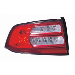 ACURA TL TAIL LAMP UNIT LEFT (BASE/NAVI MDL) OEM#33551SEPA11 2007-2008 PL#AC2818107