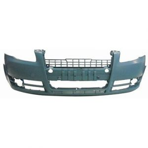 AUDI A4 CABRIO FRONT BUMPER COVER PRIMED (W/O WASHER)(WO/S LINE) OEM#8E0807105NGRU 2007-2009 PL#AU1000142