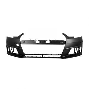 AUDI A4 SD FRONT BUMPER COVER PRIMED (WO/WASHER)(W/2 SENSOR)(WO/S-LINE)**CAPA** OEM#8W0807065NGRU 2017-2018 PL#AU1000236C