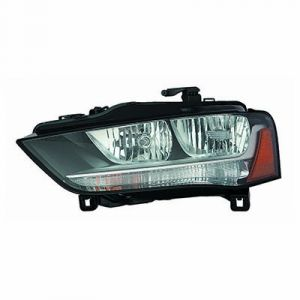 AUDI ALLROAD (A4)(WG) HEAD LAMP ASSEMBLY LEFT (HALOGEN)(FROM 5-31-12)**CAPA** OEM#8K0941003AD 2013-2014 PL#AU2502175C