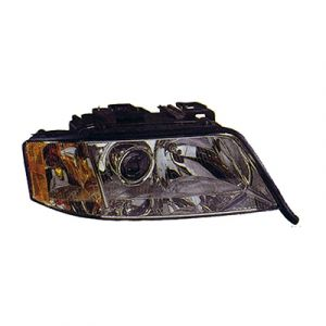 AUDI A6 SD /WG HEAD LAMP RIGHT (V6)(HALOGEN)(AWD:From:Vin:Y046632/FWD) OEM#4B0941004AS 1998-2001 PL#AU2503108