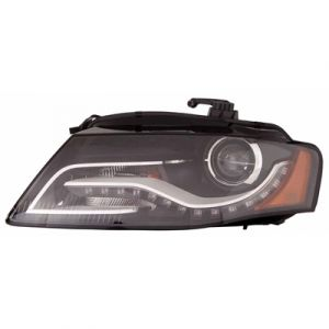 AUDI A4 SD / WG HEAD LAMP UNIT RIGHT(HID)(WO/CURVE LED LIGHT)(FROM 6-21-10) OEM#8K0941030AS 2010-2012 PL#AU2503163