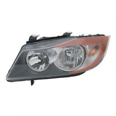 BMW BMW 3 (SD) HEAD LAMP LEFT (HALOGEN) OEM#63116942725 2006-2008 PL#BM2502133