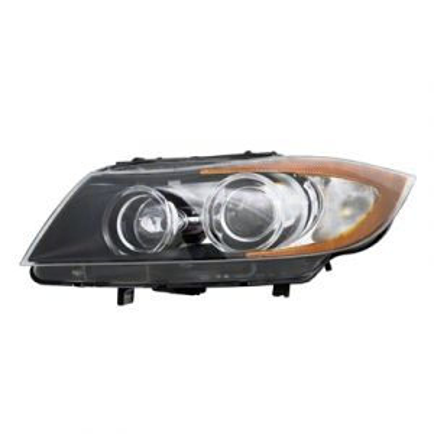 BMW BMW 3 (SD) HEAD LAMP UNIT LEFT (XENON)(W/AUTO ADJUST) OEM#63117161669 2006-2008 PL#BM2502140