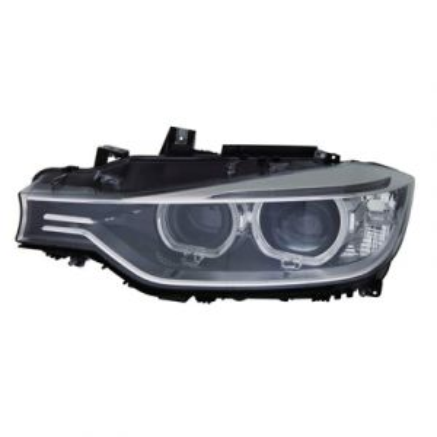 BMW BMW 3 (SD) HEAD LAMP UNIT LEFT (BI-XENON)(WO/ADAPTIVE) OEM#63117338705 2012-2015 PL#BM2502181