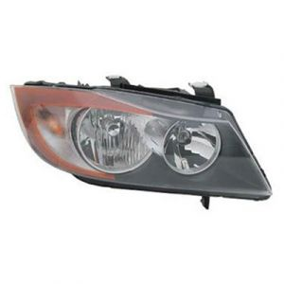 BMW BMW 3 (SD) HEAD LAMP ASSEMBLY RIGHT (HALOGEN) **CAPA** OEM#63116942726 2006-2008 PL#BM2503134C