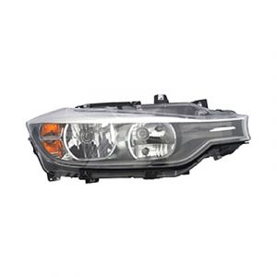 BMW BMW 3 (SD) HEAD LAMP ASSEMBLY RIGHT (HALOGEN)**CAPA** OEM#63117338710 2012-2015 PL#BM2503169C