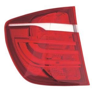 BMW BMW X3 TAIL LAMP ASSEMBLY LEFT (OUTER)(WO/XENON HEAD/LAMPAMP)**CAPA** OEM#63217220239 2011-2017 PL#BM2804112C