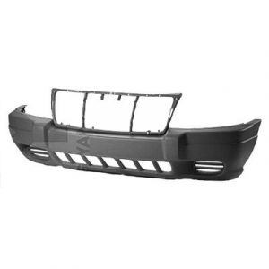 JEEP GRAND CHEROKEE FRONT BUMPER COVER TXT-LIGHT GRAY (W/ FOG) OEM#5FN29VF7AB 1999-2003 PL#CH1000312