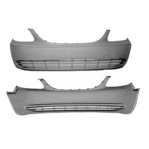 """DODGE TRUCKS & VANS TOWN & COUNTRY FRONT BUMPER COVER PRIMED (W/O FOG)(119"""" WB) OEM#5018611AA 2001-2004 PL#CH1000320"""