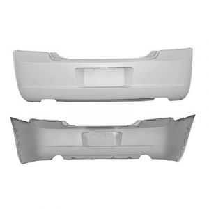DODGE CHARGER REAR BUMPER COVER PRIMED (W/O VALANCE HOLE) (EXC SRT-8) OEM#4806188AD 2006-2010 PL#CH1100408