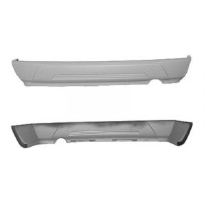 CHRYSLER PACIFICA REAR BUMPER COVER LOWER TEXT-DARK GRAY(EXC.4.0L)**CAPA** OEM#5142738AA 2004-2008 PL#CH1100916C