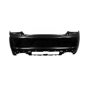DODGE CHARGER REAR BUMPER COVER PRIMED (WO/SENSOR)(SE/SXT/ R/T / R/T Road&Track/POLICE)**CAPA** OEM#5RK97TZZAD 2015-2019 PL#CH1100A07C