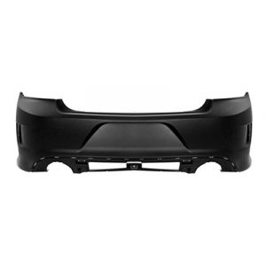 DODGE CHARGER REAR BUMPER COVER PRIMED (WO/SENSOR) (W/ HOOD SCOOP)**CAPA** OEM#5PP51TZZAD 2015-2019 PL#CH1100A09C