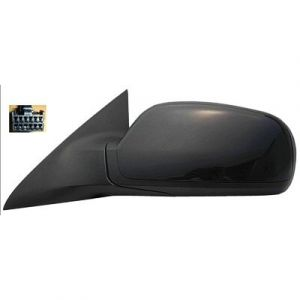CHRYSLER PACIFICA DOOR MIRROR POWER/HEATED LEFT (W/MEMORY W/O DIMMING)(TEXTURE) OEM#5054369AA 2006 PL#CH1320299