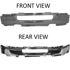 FORD TRUCKS & VANS FORD/PU (F150 EXC HERITAGE) FRONT BUMPER CHR.(W/O FOG)(TO 8/8/05) OEM#4L3Z17757AA 2004-2006 PL#FO1002388