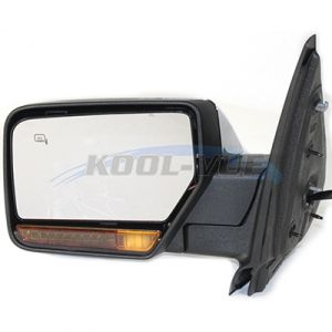 LINCOLN NAVIGATOR DOOR MIRROR LEFT PWR/HTD/PUDDLE/SIGNAL/MEMORY/PWR-FOLD (CHR) OEM#8L7Z17683AA 2007-2008 PL#FO1320391