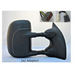 FORD TRUCKS & VANS FORD/PU (F250/350/450/550) Super Duty DOOR MIRROR RIGHT POWER/HEATED (WO/SIGNAL)(DUAL ARMS/GLASS)(TRAILER TOW)(FOLD-IN/OUT) OEM#3C7Z17682EAA 1999-2007 PL#FO1321218