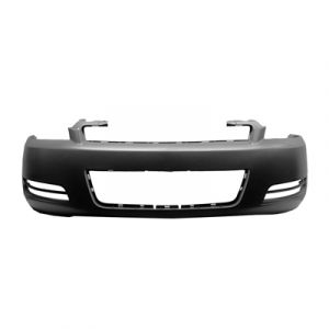 Front Bumper Cover Compatible with 2000-2005 Chevrolet Impala Primed with Body Side Molding Base Model