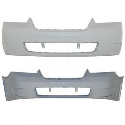 CHEVROLET MALIBU SD/MAXX HB (W/O S/M IN BMP) FRONT BUMPER COVER PRIMED W/O FOG (LS/LT) OEM#15266276 2006-2007 PL#GM1000767