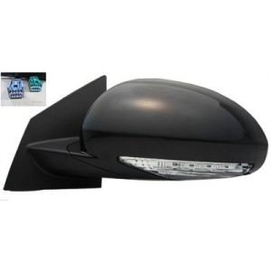 BUICK ENCLAVE DOOR MIRROR LEFT POWER/HEATED (W/SIGNAL)(W/MEMORY)(MANUAL FOLD) OEM#25867122 2008-2012 PL#GM1320378