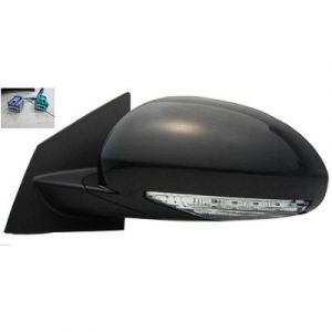 BUICK ENCLAVE DOOR MIRROR LEFT POWER/HEATED (W/SIGNAL)(W/MEMORY)(PWR FOLD) OEM#25867058 2008-2012 PL#GM1320379