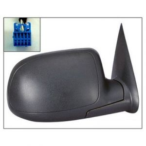 CADILLAC ESCALADE/ESCALADE ESV DOOR MIRROR RIGHT PWR/HTD/M-FOLD (TXT CVR) OEM#15226945 2003-2006 PL#GM1321293