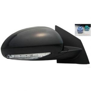 BUICK ENCLAVE DOOR MIRROR RIGHT POWER/HEATED (W/SIGNAL)(W/MEMORY)(MANUAL FOLD) OEM#25867123 2008-2012 PL#GM1321378