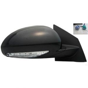 BUICK ENCLAVE DOOR MIRROR RIGHT POWER/HEATED (W/SIGNAL)(W/MEMORY)(PWR FOLD) OEM#25867059 2008-2012 PL#GM1321379