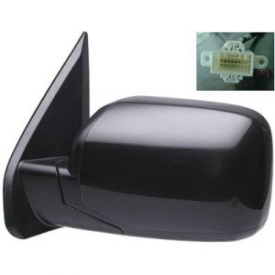 HONDA PILOT DOOR MIRROR LEFT POWER/HEATED (WO/Signal Lamp) OEM#76258SZAA11ZA 2009-2015 PL#HO1320248