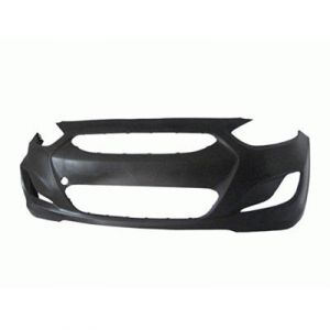 HYUNDAI ACCENT HBK FRONT BUMPER COVER PRIMED OEM#865111R000 2012-2013 PL#HY1000188