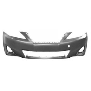 LEXUS IS 250/350 (SD) FRONT BUMPER COVER PRIMED (W/ WASHER)(WO/SENSOR) **CAPA** OEM#5211953981 2011-2013 PL#LX1000215C