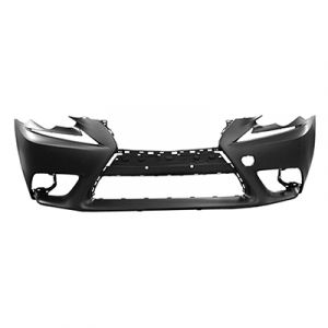 LEXUS IS 250/350/200t/300 (SD) FRONT BUMPER COVER PRIMED (WO/WASHER)(WO/SENSOR) (EXC F SPORT) *CAPA** OEM#521195E904 2014-2016 PL#LX1000262C