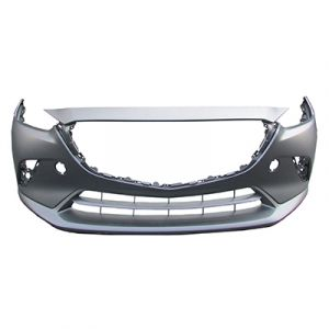 MAZDA CX-3 FRONT BUMPER COVER PRIMED (WO/ LOWER CHROME MLDG) OEM#DK8A50031CBB 2016-2019 PL#MA1000242