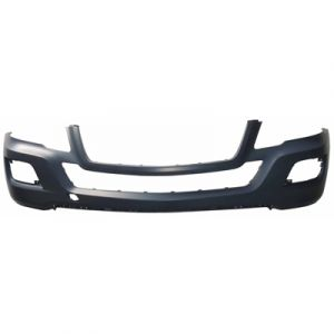 MERCEDES-BENZ ML-CLASS (164) (450 HYBRID) FRONT BUMPER COVER PRIMED (WO/SPORT)(WO/WASHERS)(WO/SENSOR) OEM#1648857225 2010-2011 PL#MB1000290