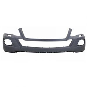 MERCEDES-BENZ ML-CLASS (164) (450 HYBRID) FRONT BUMPER COVER PRIMED (WO/SPORT)(W/ WASHERS)(WO/SENSOR) OEM#1648803140 2010-2011 PL#MB1000291