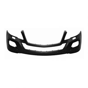 MERCEDES-BENZ ML-CLASS (164) (EXC 450 HYBRID) FRONT BUMPER COVER PRIMED (W/ WASHERS)(W/ SENSOR)(ML320/350)(WO/AMG SPORT) OEM#1648803340 2009-2011 PL#MB1000293