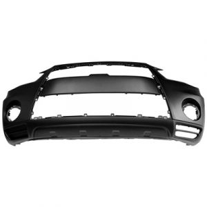MITSUBISHI OUTLANDER (7 SEATER) FRONT BUMPER COVER PRM/LWR-TEXT (WO/HOLES FOR LOWER PAD) OEM#6400D090 2010-2013 PL#MI1000327