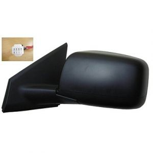 NISSAN(DATSUN) ROGUE SELECT (OLD) DOOR MIRROR LEFT PWR/HTD(W/O SIDE VIEW CAMERA) W/TEXT COVER OEM#96302JM200-PFM 2014-2015 PL#NI1320199