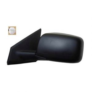 NISSAN(DATSUN) ROGUE SELECT (OLD) DOOR MIRROR LEFT PWR/HTD(W/O SIDE VIEW CAMERA) W/PRM COVER OEM#96302JM200-PFM 2014-2015 PL#NI1320236