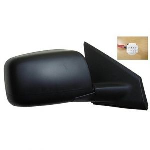 NISSAN(DATSUN) ROGUE SELECT (OLD) DOOR MIRROR RIGHT PWR/HTD(W/O SIDE VIEW CAMERA)W/TEXT COVER OEM#96301JM200-PFM 2014-2015 PL#NI1321199