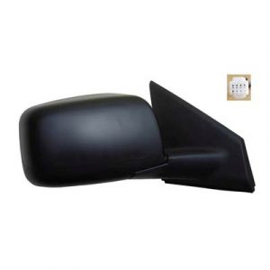 NISSAN(DATSUN) ROGUE SELECT (OLD) DOOR MIRROR RIGHT PWR/HTD(W/O SIDE VIEW CAMERA)W/PRM COVER OEM#96301JM200-PFM 2014-2015 PL#NI1321236