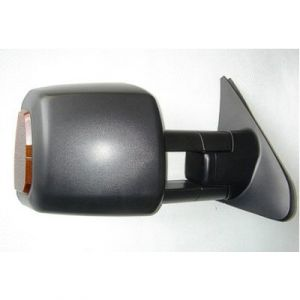 TOYOTA TUNDRA DOOR MIRROR RIGHT POWER/HEATED (DUAL ARM) (W/LAMP & TOWING)(TEXT) OEM#879100C221 2007-2013 PL#TO1321243