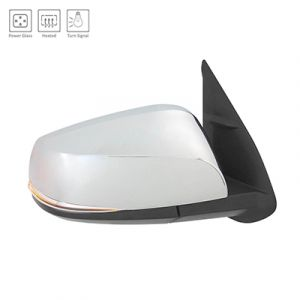 TOYOTA TACOMA DOOR MIRROR RIGHT PWR/HTD/SIGNAL (WO/BLIND DETECT)(CHR CVR) OEM#8791004230-PFM 2016-2019 PL#TO1321353